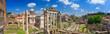 Leinwanddruck Bild - Roman Forum in Rome