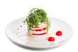 Fine vegetarian salad