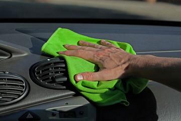 Dashboard dusting