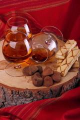 Tartufo al cioccolato e cognac