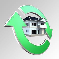 Renewable house energy