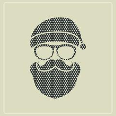 Hipster man.