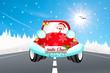 machine of Santa Claus