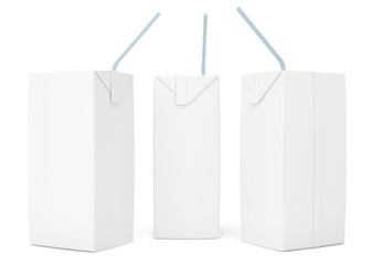 set blank juice packaging