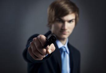 Business murder