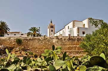Santa Maria church in Betancuria. Fuertventura