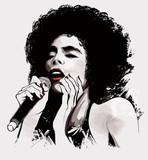 afro american jazz singer - 59657131