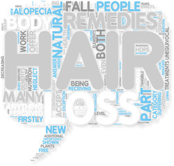 Concept of Do Natural Hair Loss Remedies Have Any Real Releva