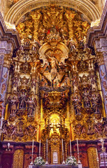 Basilica Altar Piece Church El Salvador Seville Andalusia Spain