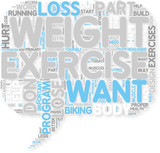 Concept of Exercise For Weight Loss
