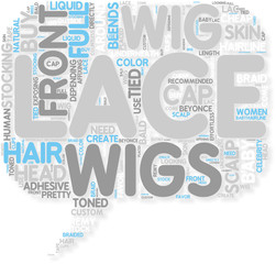 Concept of Full Lace Wigs and Lace Front Wigs