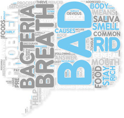 Concept of Get Rid Of Bad Breath