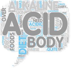 Concept of Acid Vs Alkaline Diet