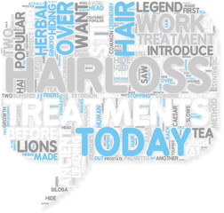 Concept of Hairloss Treatments  Ancient Treatments Still Work