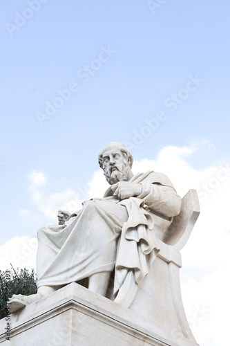 Statue of Plato at the Athens Academy