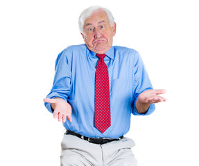 Clueless old man asking a question, who cares? I don't know
