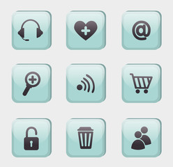 variety of icons