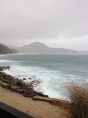 storm in st barths