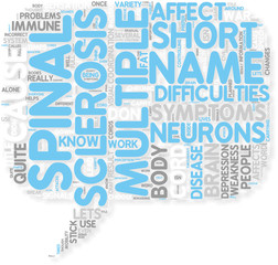 Concept of I am Multiple Sclerosis
