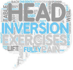 Concept of Inversion Tables Reduce Back Pain