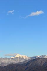 冬の南アルプス塩見岳