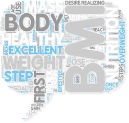 Concept of Looking At Nutrition And BMI