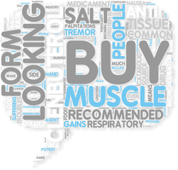 Concept of Looking To Buy Clenbuterol