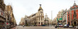 Panorama of Crossing the Calle de Alcala and Gran Via  in Madrid - 59670954