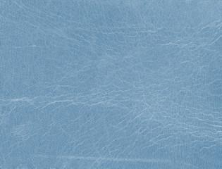 worn blue  leather texture