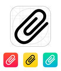 Attachment (Paper clip) icon.