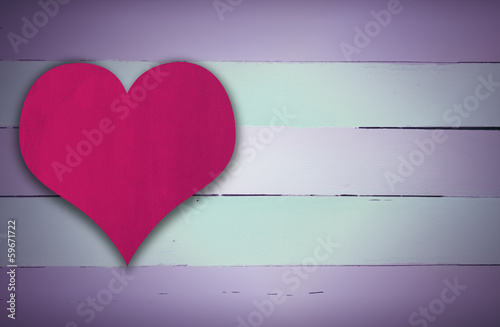 Blue and pink retro wooden panel background