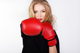 Sexy boxing Woman