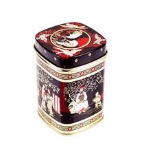 Tea box on a white background