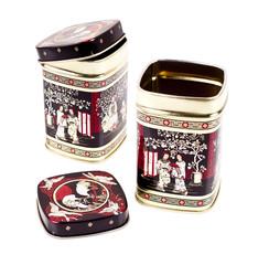 Tea boxes on a white background