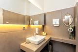 Mediterranean interior - rest room