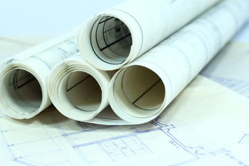 Business  construction paperwork