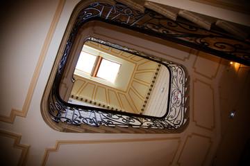 L'escalier du chateau