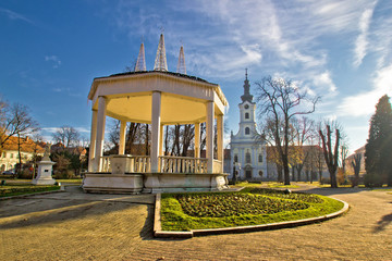 Town of Bjelovar central park