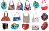 set of ladies handbags
