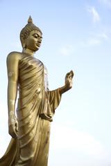 Golden Buddha Statue at Buddha Monthon, Thailand