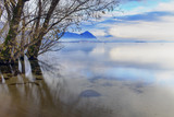 Feriolo, Lake Maggiore, view from lakeshore color image poster