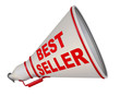Best seller (продаваемый лучше всех). Рупор с надписью
