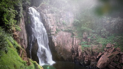 Haew Na Lok waterfall, Khao Yai, Thailand