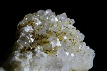 Горный хрусталь (друза кристаллов)