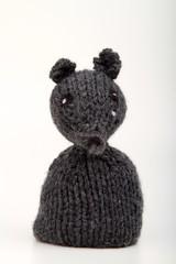 marionetta in lana di lupo