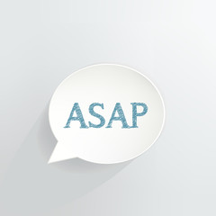 ASAP Speech Bubble