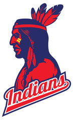 indian tribe mascot
