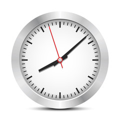 Clock, vector illustration