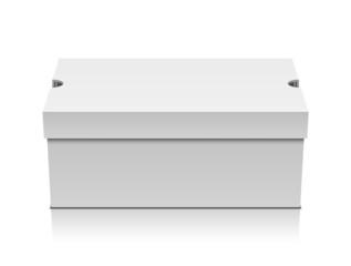 White shoe box
