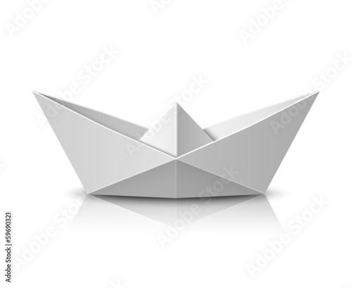 Origami boat - 59690321